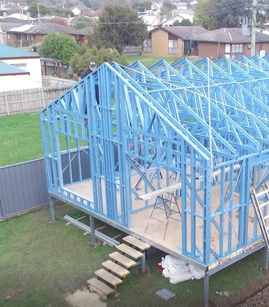 steel Frame kit homes