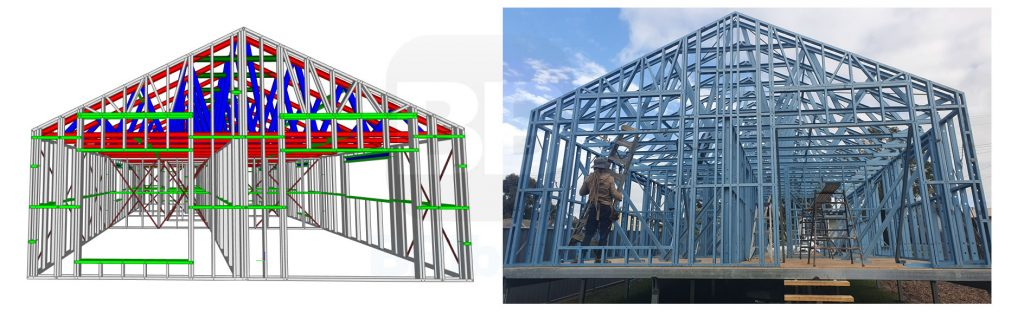 steel frame kit home designers