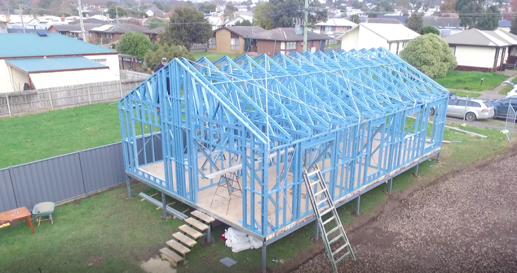 the dawson steel frame kit home
